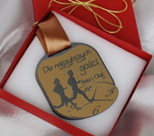 Medal nagroda w konkursach weselnych