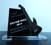Statuetka gitara pamiątka dla orkiestry