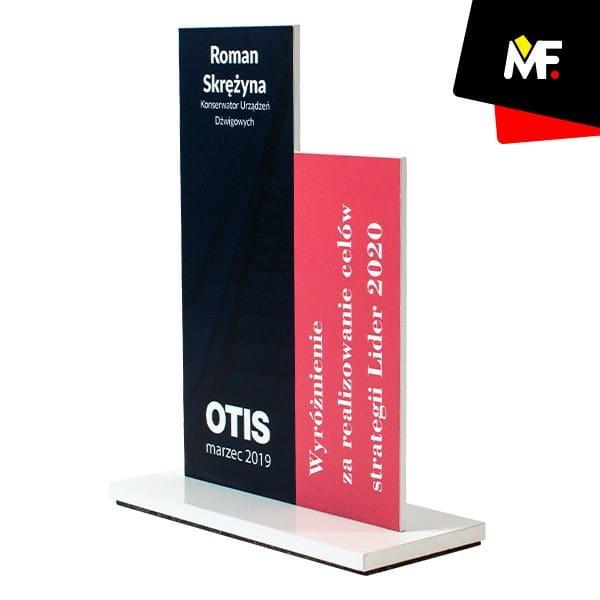 Statuetka okolicznościowa wyróżnienie OTIS