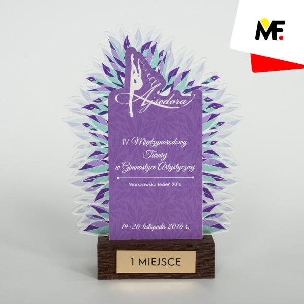 Statuetka gimnastyka artystyczna VI Międzynarodowy Turniej 2016