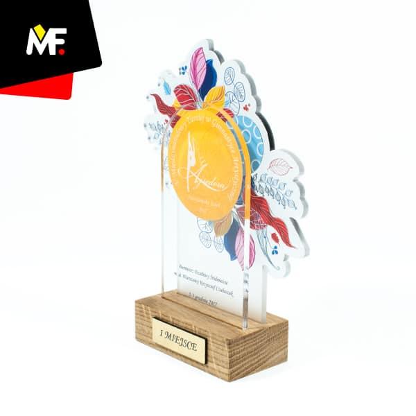 Statuetka sportowa I miejsce na turnieju Gimnastyki Artystycznej