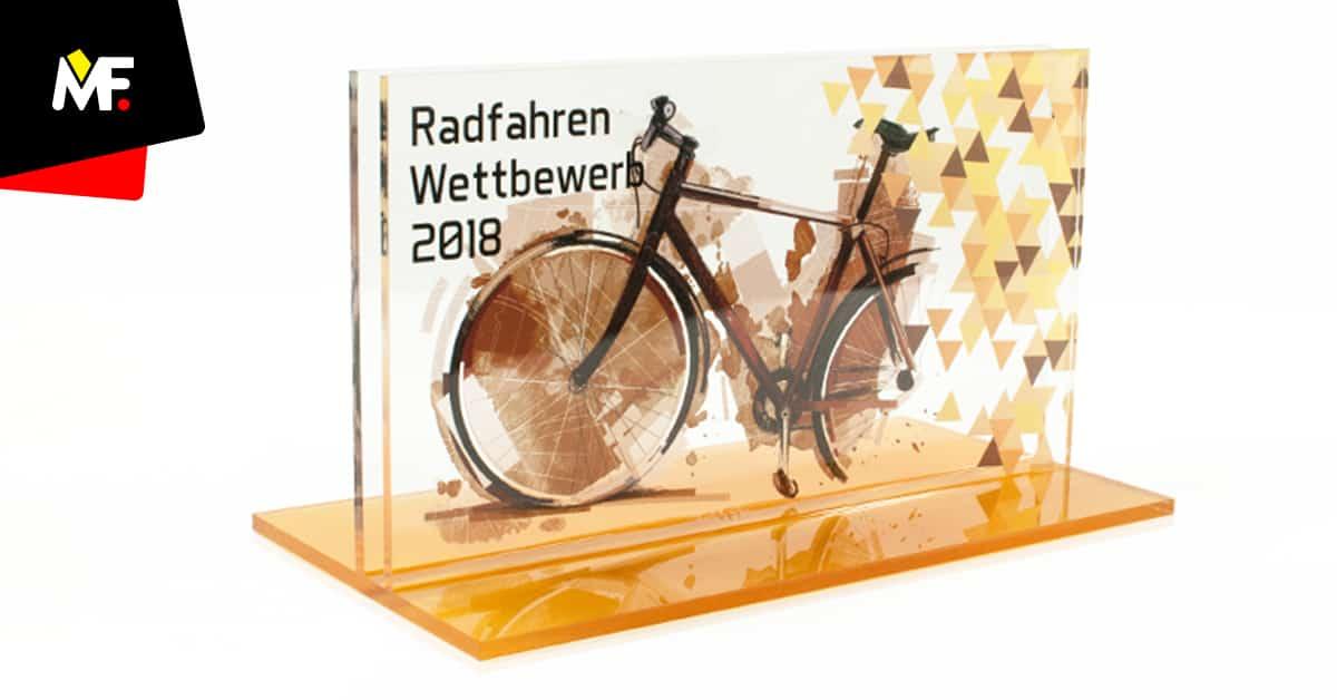Statuetka sportowa rowerowa