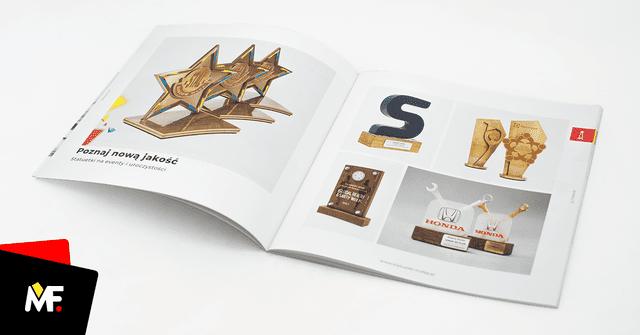Katalog Modern Forms 2018, statuetki, medale, otwieracze