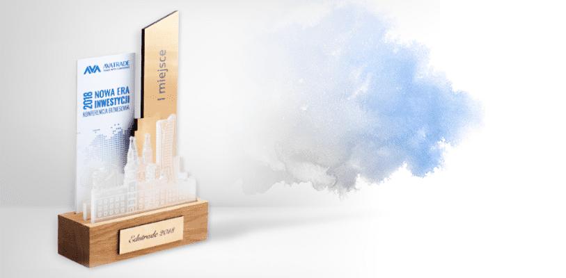 Statuetka biznesowa przedstawiająca miasto, Konferencja biznesowa: Nowa Era Inwestycji 2018